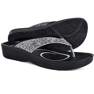 33023a10b1bd AEROTHOTIC Original Orthotic Comfort Thong Style Sandals   Flip Flops for  Women with Arch Support for Comfortable Walk